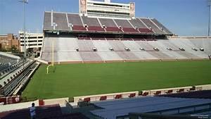 Memorial Stadium Ou Seating Chart Oklahoma Memorial Stadium Section 35 Rateyourseats Com
