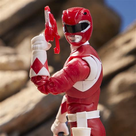 Power Rangers Lightning Collection Mighty Morphin Red ...