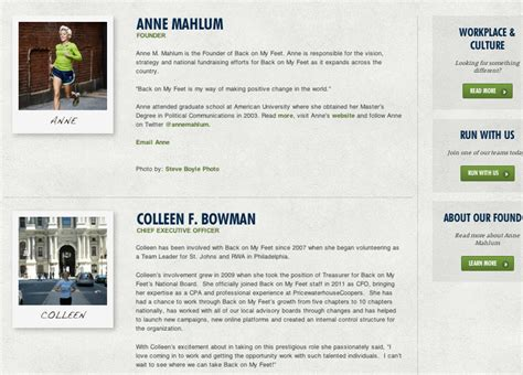 employee biography template 7 steps to compelling staff bios on your nonprofit website