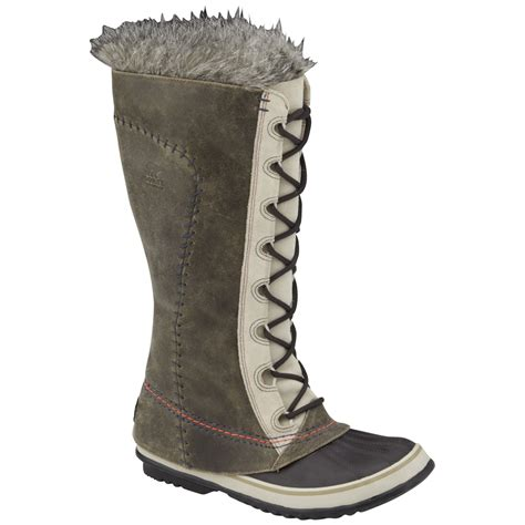 sorel womens cate  great deco winter boot