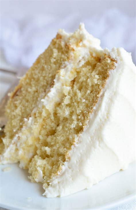 buttermilk vanilla cake recipe  scratch
