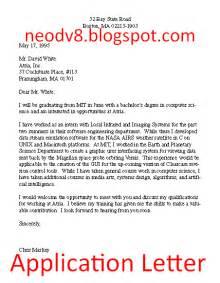 Contoh Job Vacancy Application Letter Curriculum Vitae Sample Good
