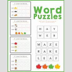 Preschool Worksheets  Spelling Fall  Autumn Words! » One Beautiful Home