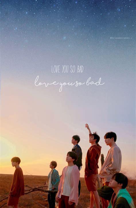 lockscreen bts fakelove loveyourself edit text galaxy