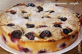 пирог из сливы простой рецепт от юлии высоцкой