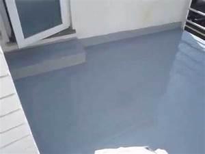 Quel Produit Pour Etancheite Terrasse : hypertectum pos sur un carrelage de terrasse youtube ~ Edinachiropracticcenter.com Idées de Décoration
