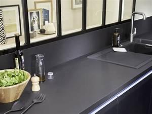 Plan De Travail Salle De Bain Lapeyre : relooking industriel dans la cuisine joli place ~ Farleysfitness.com Idées de Décoration