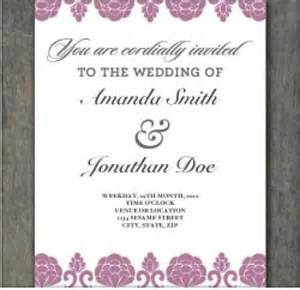 free wedding invitation template wedding invites on free wedding invitation templates free wedding invitations and