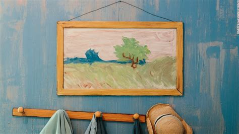 Van Gogh's Bedroom Is Available On Airbnb
