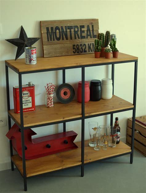 fabriquer un bureau pas cher fabriquer des étagères style industriel à partir d