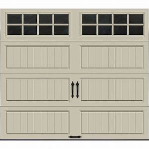 clopay gallery collection 8 ft x 7 ft 65 r value With 5ft garage door