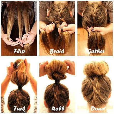 easy bun hairstyle tutorials   summers top