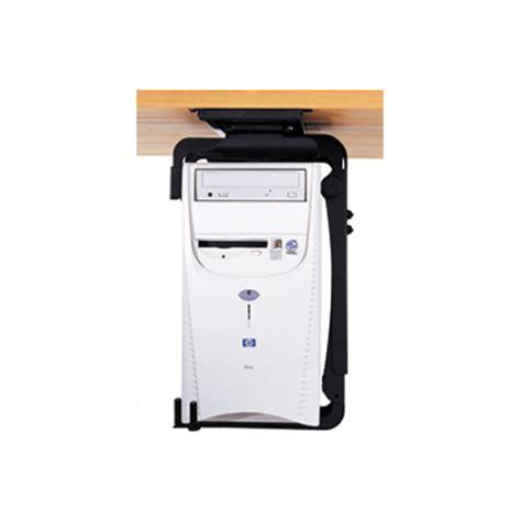 Humanscale Desk Cpu Holder by Humanscale Cpu555sec Secure Desk Mount Cpu Holder