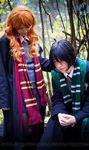 Harry Potter: Lily and Severus by VandorWolf on DeviantArt
