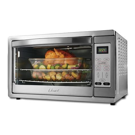 oster digital countertop oven with convection oster 174 large digital countertop oven