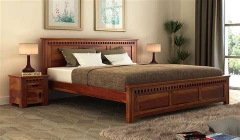buy adolph sheehsam wood king size bed  storage