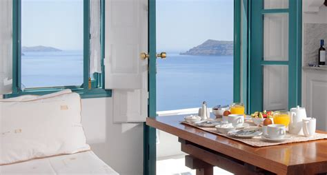 Santorini Apartments Studios In Oia With Pool And Sea View