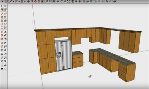 faire des plans de cuisine exemple du travail réalisé avec le logiciel de cuisine
