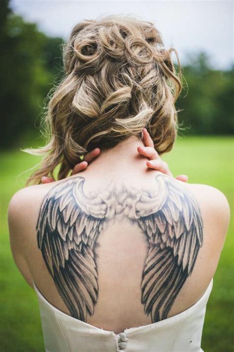 Tatouage Ange  Signification Et Idées De Modèles Originaux