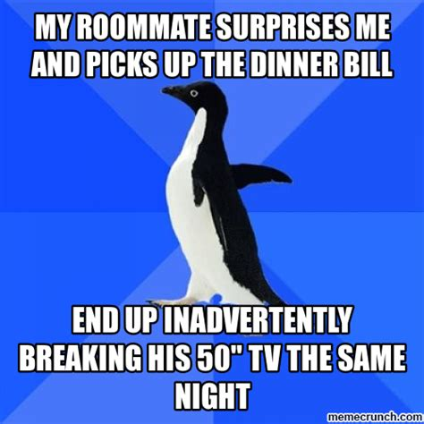 Penguin Meme Generator - socially awkward penguin