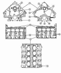 Chrysler Aspen Engine  Short Block