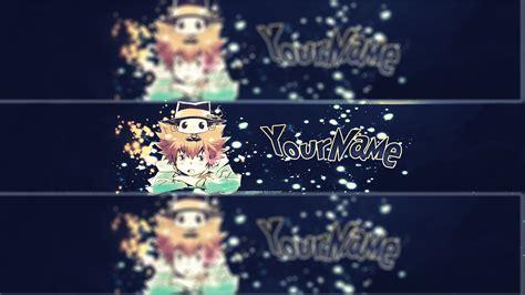 anime youtube banner