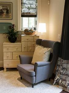 Reading, Nook, With, Oversized, Wingback, Chair