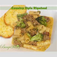 Country Style Rigatoni