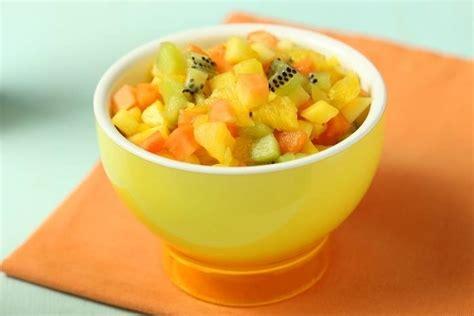 recette de cuisine simple et rapide recette de salade de fruits exotiques facile et rapide