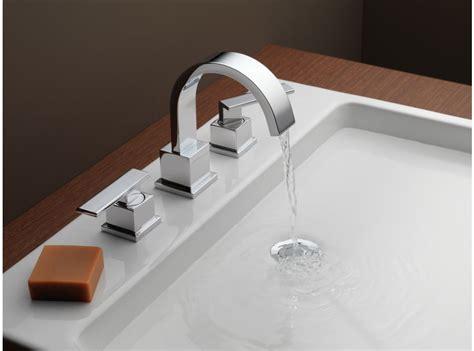delta lf vero  handle widespread lavatory faucet