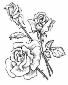 Two Roses Outline Rose Flowers Wall Stickers Wall Art