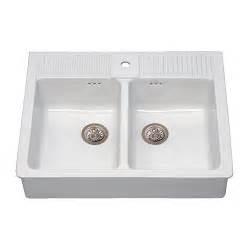 Ikea Spüle Mit Unterschrank : domsj sp le mit 2 becken ikea ~ Watch28wear.com Haus und Dekorationen