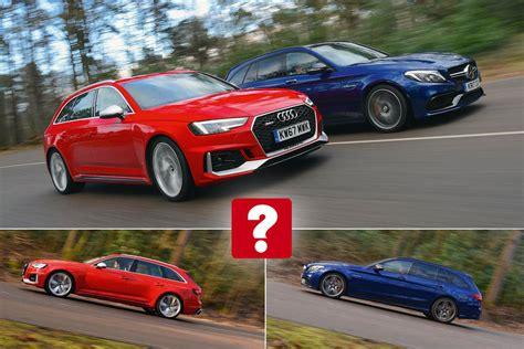 New Audi RS4 Avant vs Mercedes-AMG C63 S Estate   What Car?