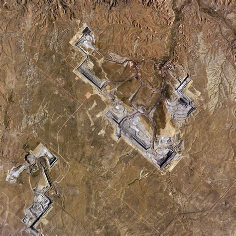 North Antelope Rochelle Coal Mine, Wyoming : Image of the Day