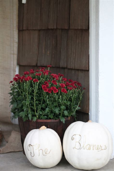 Fall Outdoor Decorating Ideas With Pumpkins