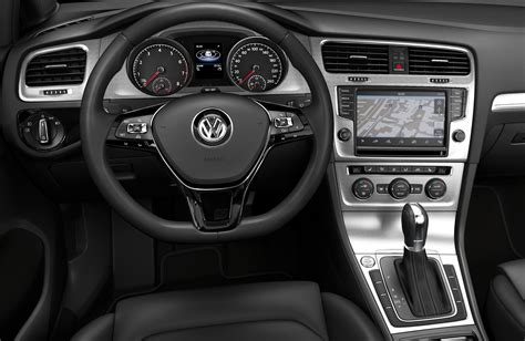 volkswagen dashboard 2013 volkswagen golf mk7 first images and details image