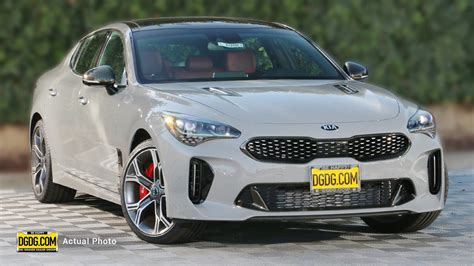 2019 Kia Stinger Gt2 by New 2019 Kia Stinger Gt2 4dr Car In San Jose K13592