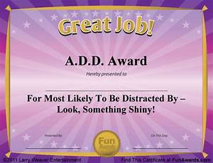funny award certificates 101 funny certificates to give With fun award templates