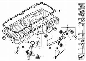 Original Parts For E92 330d N57 Coupe    Engine   Oil Pan