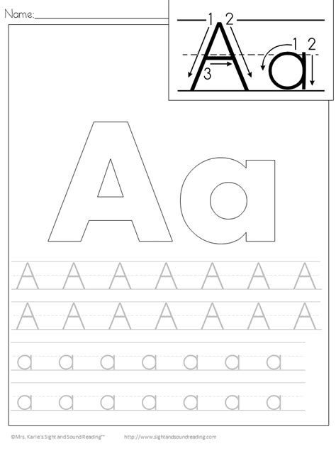 handwriting worksheets free printable free