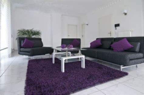 Grey And Purple Living Room by Black Purple Green And Grey Room Ideas