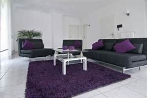 Gray and purple living room ideas advice for your home for Purple and grey themed living room