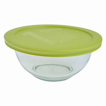 Mixing Bowl Pyrex Glass Bowls Lids Piece