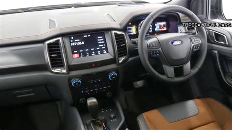 ford ranger wildtrak redesign interior exterior
