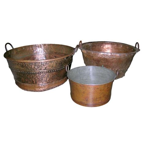 antique copper peroles cooking pots at 1stdibs