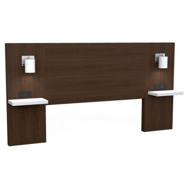 Integrated Headboard Nightstands by Headboard With Integrated Shelf Nightstand Meubles