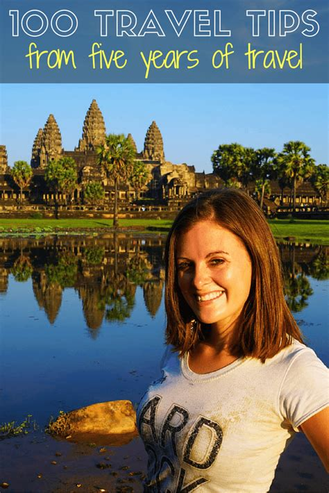 my 100 travel tips from five years travelling the