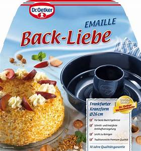 Frankfurter Kranz Backform : dr oetker profi emaille backform 39 frankfurter kranz 39 26 cm meincupcake shop ~ Yasmunasinghe.com Haus und Dekorationen