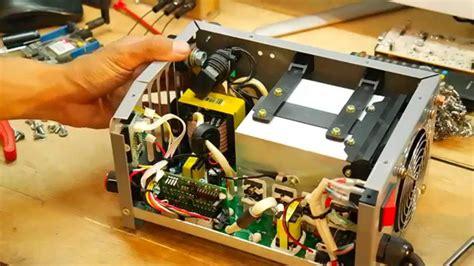 rangkaian mesin las listrik