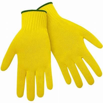 Yellow Kevlar Glove Clipart Knit Gloves Cotton